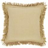 Zierkissen Yasmin - Beige, KONVENTIONELL, Textil (45/45cm) - Ombra