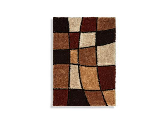 Hochflorteppich Fancy 160x230 cm - Beige/Braun, KONVENTIONELL, Textil (160/230cm) - Luca Bessoni