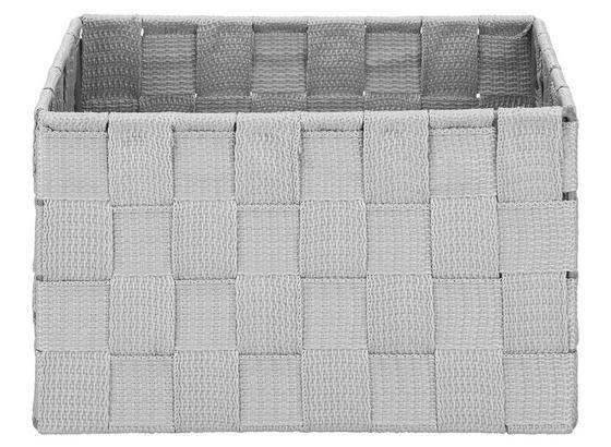 Košík Charlotte - S - svetlosivá, kov/plast (20/15/12cm) - Mömax modern living