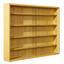 Hängevitrine Acquario - Buchefarben, Basics, Glas/Holzwerkstoff (80/60/9,5cm) - Carryhome