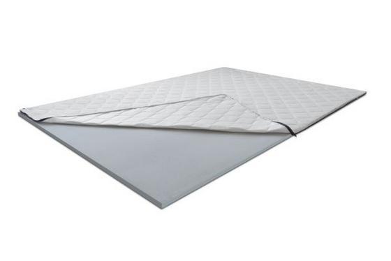 Topper Pur Basic 160 - bílá, textil (160/200cm)