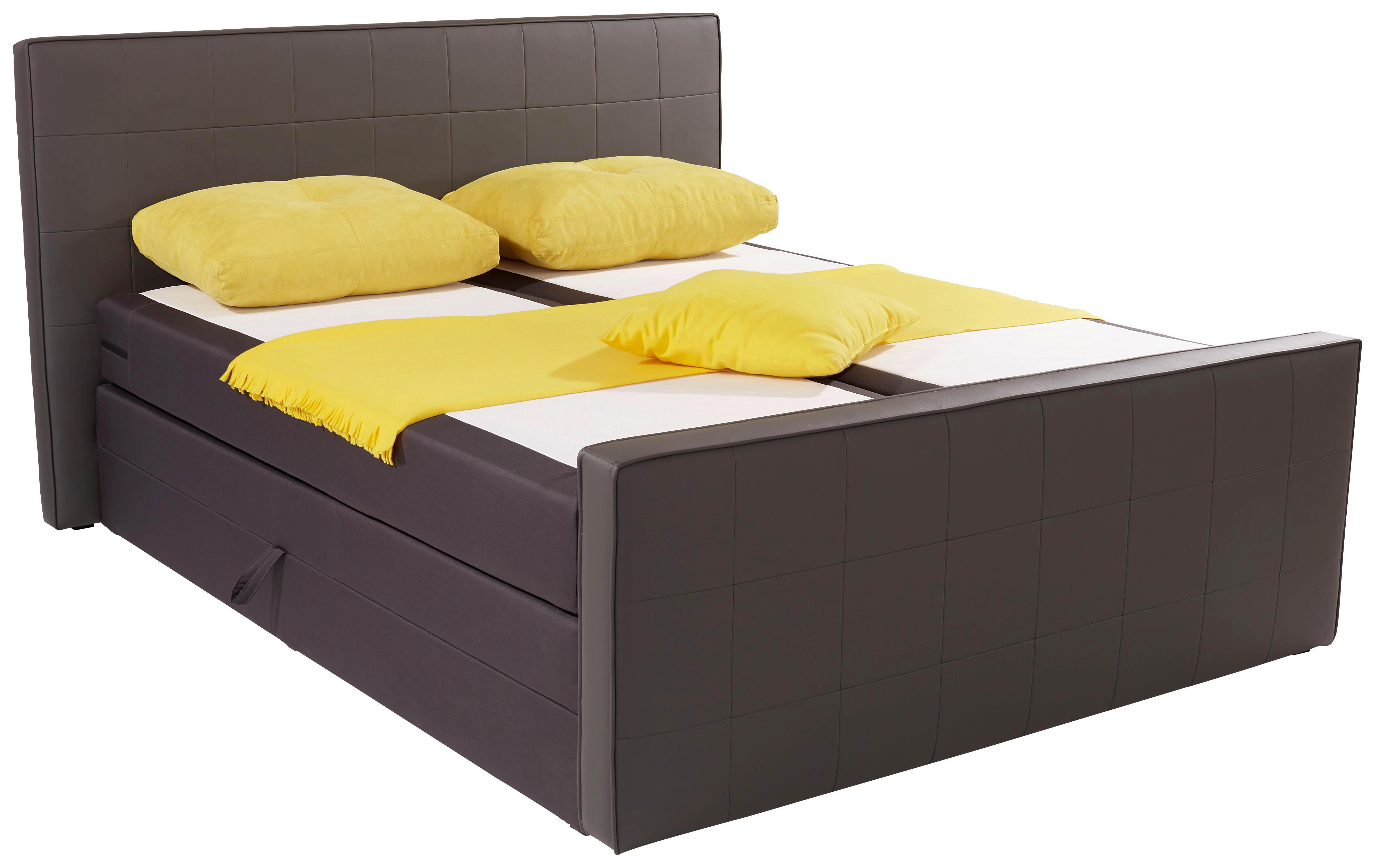 Stauraumbett 140x200 schwarz  Betten günstig online kaufen | Möbelix