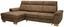 Sedací Souprava Flaming - hnědá, Konvenční, textilie (160/103/274cm) - Zandiara