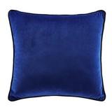 Zierkissen Cleo Marine B/L: ca. 40/40cm - Blau, MODERN, Textil (40/40cm) - Luca Bessoni