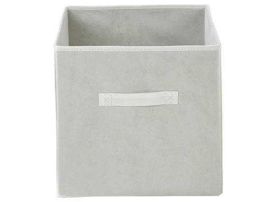 Tárolókosár Juana - Fehér, konvencionális, Karton/Textil (31/31/31cm) - Luca Bessoni