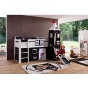 Kinderkissen Schwarz/Weiß - Schwarz/Weiß, Design, Textil (88/11/30cm) - Livetastic