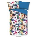 Bettwäsche Robin 140/200cm Multicolor - Multicolor, Basics, Textil
