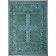 Flachwebeteppich Verona Aqua, 200/290 - Blau, MODERN, Textil (200/290cm)