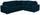 Wohnlandschaft in L-Form Giovanni 277x217cm - Türkis/Chromfarben, MODERN, Holz/Textil (277/217cm) - Ombra