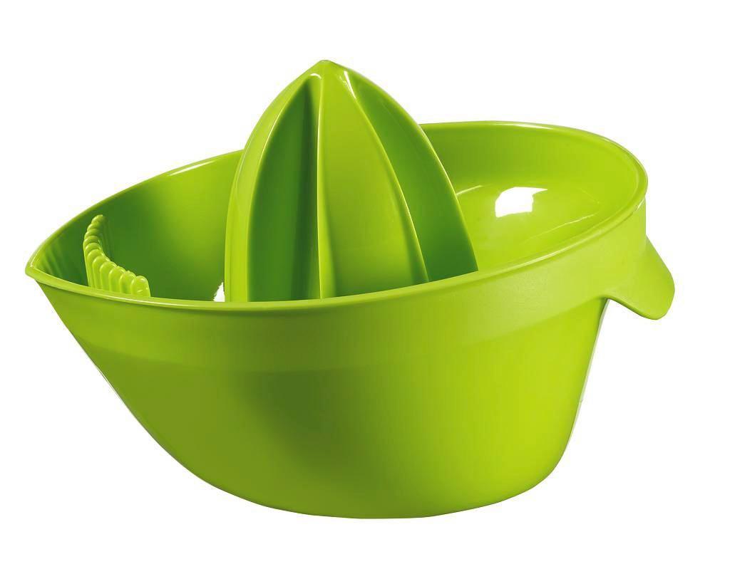 Citromprés Zöld - zöld, műanyag (15/11/18cm)
