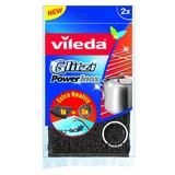 Reinigungsset Vileda Glitzi - Silberfarben/Schwarz, KONVENTIONELL, Metall (11.5/24.5/2cm) - Vileda