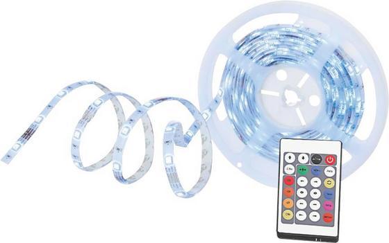 LED Leuchtband Jasmina - Multicolor, KONVENTIONELL, Kunststoff (500/1/0,3cm) - Luca Bessoni
