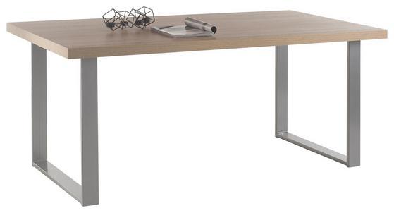 Esstisch mit Metallkufen