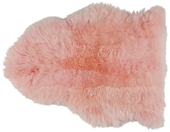 Kůže Ovčí Lea - růžová, textil (60/45cm) - Mömax modern living