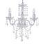 Závesná Lampa Isabella 35/125cm, 40 Watt - chrómová/číre, Romantický / Vidiecky, kov/plast (35/125cm) - Mömax modern living
