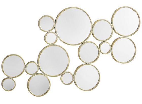 Zrcadlo Malena 63x105,5 Cm - zlatá, Moderný, kov/kompozitné drevo (63/105,5/2,5cm) - Mömax modern living