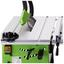 Tischkreissäge Zi-fks250 - Schwarz/Grün, MODERN, Kunststoff/Metall - Zipper