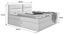 Boxspringbett Mercura 180x200 Anthrazit - Anthrazit, MODERN, Holzwerkstoff/Textil (195/115/220cm)