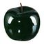Dekoračné Jablko Provence I - tmavozelená, keramika (15/12,5cm)