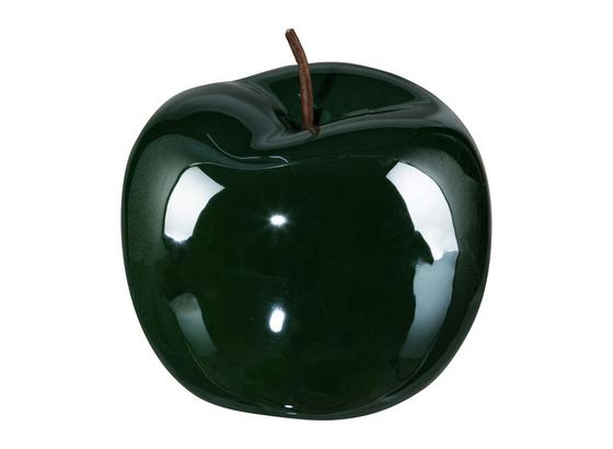 Jablko Dekorační Provence I - tmavě zelená, keramika (15/12,5cm)