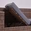 Loungegarnitur 268x208 cm 7-Teilig Joleen, Braun - Dunkelgrau/Dunkelbraun, KONVENTIONELL, Glas/Kunststoff (268/208cm) - Luca Bessoni
