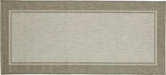 Hladko Tkaný Koberec Naomi 2 - sivá, Konvenčný, textil (80/300cm) - Mömax modern living