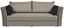 Schlafsofa Zora B: 232cm - Dunkelgrau/Braun, MODERN, Holz/Textil (232/81/99cm) - Luca Bessoni