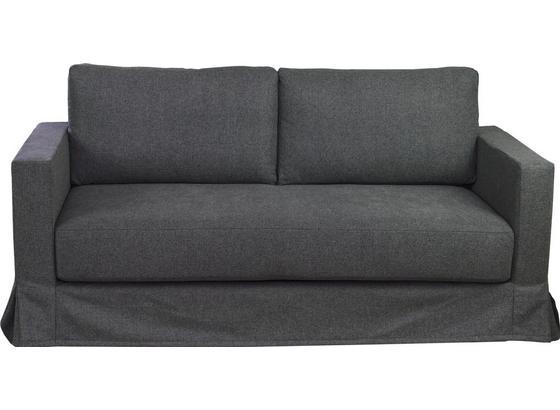 Zweisitzer-Sofa Thomas B: 148 cm Grau - Grau, Basics, Textil (148/90/94cm)