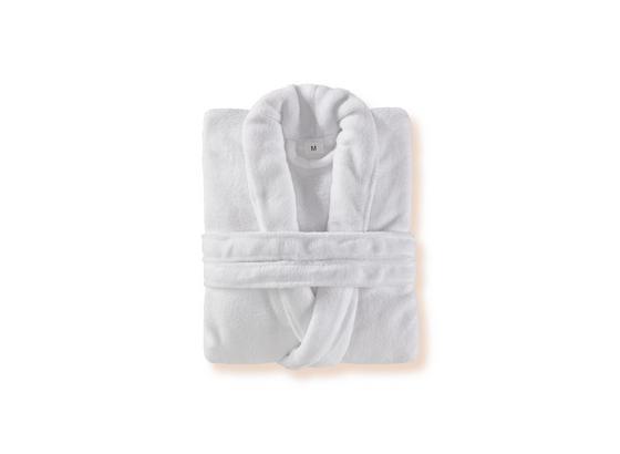 Bademantel Amira - Weiß, KONVENTIONELL, Textil (S-XLnull) - Ombra