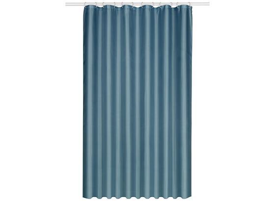 Záves Do Sprchovacieho Kúta Uni - modrá, textil (180/200cm) - Mömax modern living