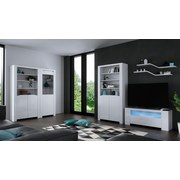 TV-Element Orlando 118cm Weiss - Weiß, MODERN, Holzwerkstoff (118/48/36cm)