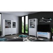 TV-Lowboard Orlando B: 118 cm Weiß - Weiß, MODERN, Holzwerkstoff (118/48/36cm)