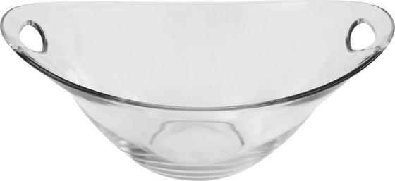 Dessertschale Gadi 6 - Klar, KONVENTIONELL, Glas (25cm) - Luca Bessoni