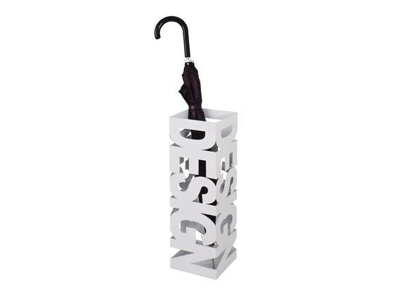 Stojan Na Dáždnik Design - biela, Moderný, kov