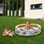 Detský Bazén Planes - oranžová/biela, Moderný, plast (168cm) - Intex