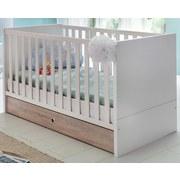 Postieľka Billund - biela, Moderný, drevený materiál/drevo (76/78/146cm) - MODERN LIVING
