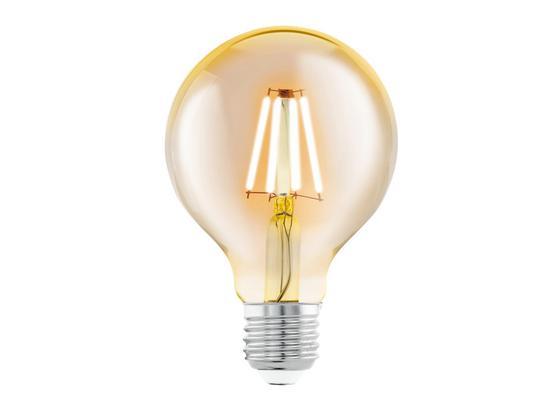 LED-Leuchmittel 4 W 2200 K 320 lm - Klar, Basics, Glas (11,8cm)