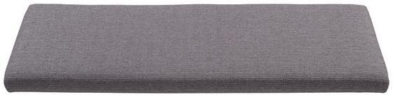 Ülőpárna Stella - Sötétszürke, modern, Textil (112,5/5/39,5cm)