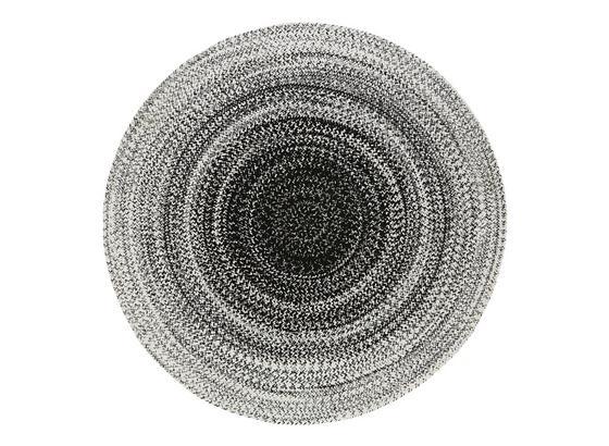 Hladko Tkaný Koberec Marie - čierna/biela, textil (160cm) - Mömax modern living