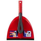 Kehrgarnitur 2 teilig - Rot, KONVENTIONELL, Kunststoff (22.5/34/8.5cm) - Vileda