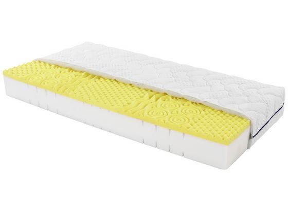 Komfortschaummatratze Yoga Feel 160x200cm H2 - Weiß, Textil (160/200cm) - Primatex