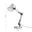 Lampa Na Písací Stôl Julian - chrómová, Konvenčný, kov (57.5cm) - Modern Living