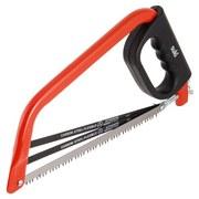 Bügelsäge 3in1 - Rot/Schwarz, MODERN, Kunststoff/Metall (40/3/20cm) - SUKI