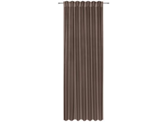 Kombinovaný Záves Ulli 300cm - hnedá, textil (140/300cm) - Mömax modern living