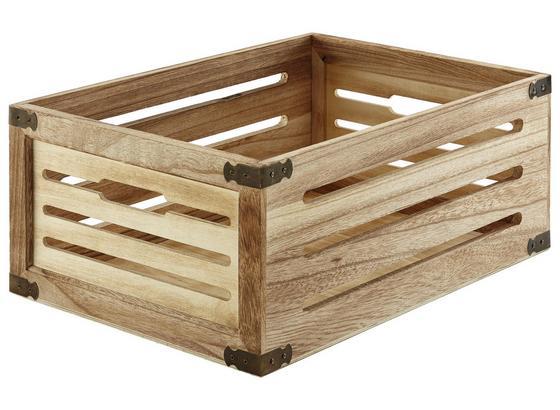 Debna Ronny - prírodné farby, drevo (44/31/18cm) - Mömax modern living