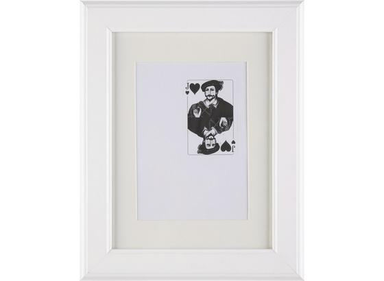 Rám Na Obrazy Provence - bílá, Romantický / Rustikální, dřevo/sklo (18/24/3,6cm) - Mömax modern living
