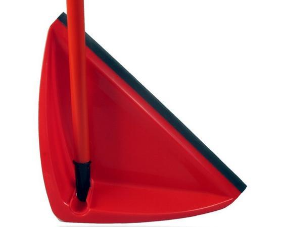 Hosszúnyelű Lapát Vileda - Piros, konvencionális, Műanyag