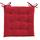 Sedací Vankúš Lola -based- -top- - červená, textil (40/40/2cm) - Based