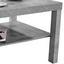 Konferenční Stolek Light - šedá, Moderní, kompozitní dřevo/umělá hmota (90/45/55cm)