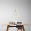 Závěsné Svítidlo Liva - průhledné, Moderní, kov/sklo (23/120cm) - Modern Living